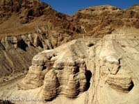 Qumran Cave - photo from FreeStockPhotos.com